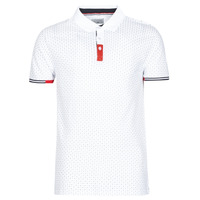 Clothing Men short-sleeved polo shirts Casual Attitude NELLY White