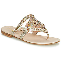 Shoes Women Flip flops Fru.it CAROTE Gold