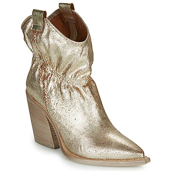 Shoes Women Ankle boots Fru.it  Gold
