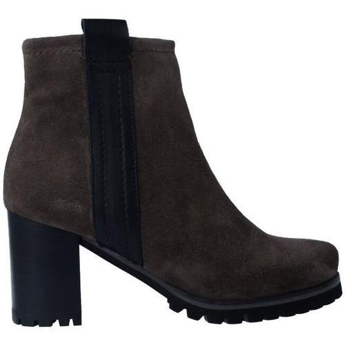 Shoes Women Ankle boots Pedro Miralles 25841 Botines de Mujer grey