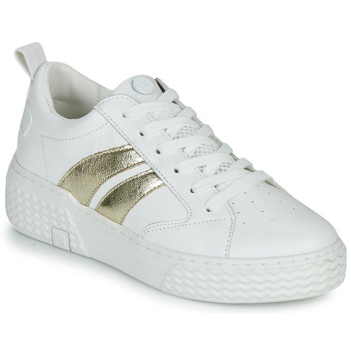 Shoes Women Low top trainers Palladium EGO 04 White / Gold