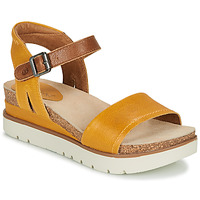 Shoes Women Sandals Josef Seibel CLEA 01 Camel / Yellow