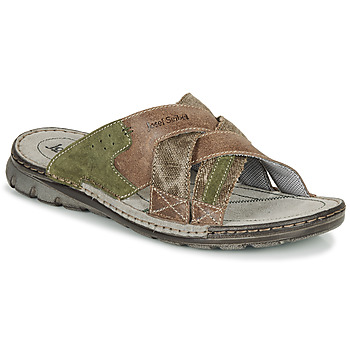 Shoes Men Mules Josef Seibel JOHN 02 Brown