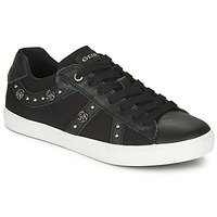 Shoes Girl Low top trainers Geox J KILWI GIRL  black