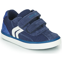 Shoes Boy Low top trainers Geox B KILWI BOY Blue / White