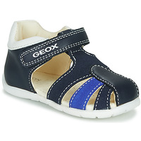 Shoes Boy Sandals Geox B ELTHAN BOY Marine / White