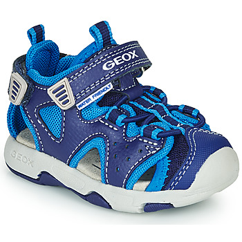 Shoes Boy Outdoor sandals Geox B SANDAL MULTY BOY Blue