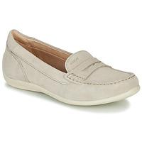 Shoes Women Loafers Geox D YUKI Beige