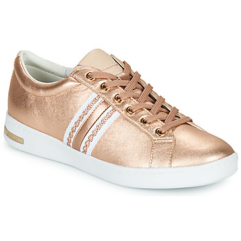 Shoes Women Low top trainers Geox D JAYSEN Pink / White