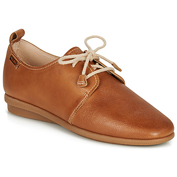 Shoes Women Derby Shoes Pikolinos CALABRIA W9K Camel