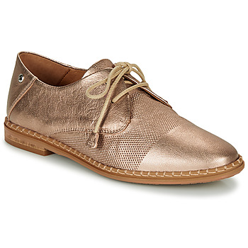 Shoes Women Derby Shoes Pikolinos MERIDA W4F Pink / Gold