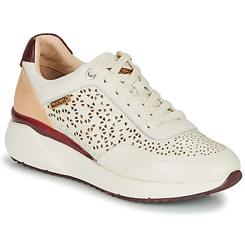 Shoes Women Low top trainers Pikolinos SELLA W6Z White / Bordeaux