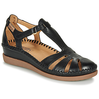 Shoes Women Flat shoes Pikolinos CADAQUES W8K Black