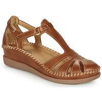 Shoes Women Sandals Pikolinos CADAQUES W8K Camel