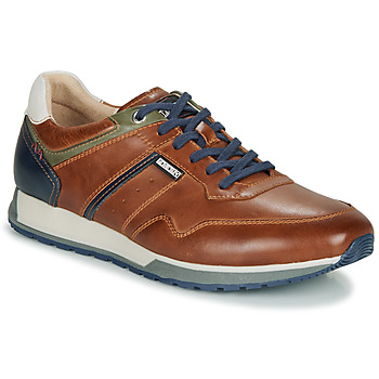 Shoes Men Low top trainers Pikolinos CAMBIL M5N Brown / Marine