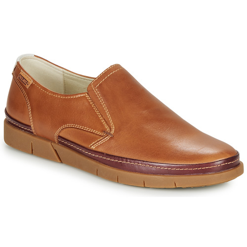 Shoes Men Loafers Pikolinos PALAMOS M0R Camel