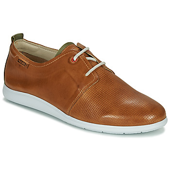 Shoes Men Derby Shoes Pikolinos FARO M9F Brown / Green