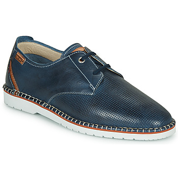 Shoes Men Derby Shoes Pikolinos ALBIR M6R Blue / Brown