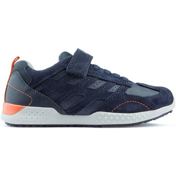 Shoes Children Low top trainers Geox J SNAKE 2 sneakers NAVY
