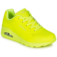 Shoes Women Low top trainers Skechers UNO NIGHT SHADES Yellow