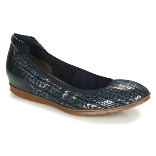 Shoes Women Flat shoes Tamaris JOYA Marine / Silver