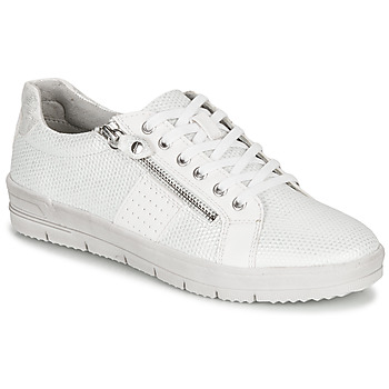 Shoes Women Low top trainers Tamaris PEPAI White