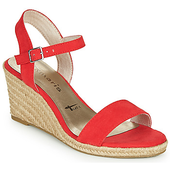 Shoes Women Sandals Tamaris LIVIA Red