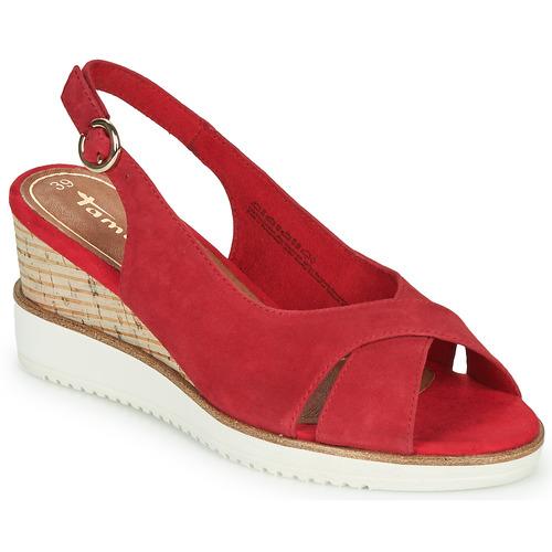 Shoes Women Sandals Tamaris ALIS Red