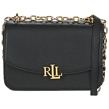 Bags Women Shoulder bags Lauren Ralph Lauren ELMSWOOD MADISON CROSSBODY MEDIUM Black