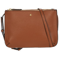 Bags Women Shoulder bags Lauren Ralph Lauren MERRIMACK CARTER CROSSBODY-MEDIUM Cognac