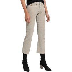 Clothing Women 5-pocket trousers Lois Pantalon Velours Beige  Pana-Coty 582 Beige