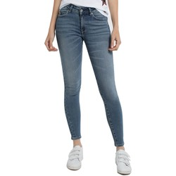 Clothing Women Skinny jeans Lois Jean denim Blue-Lue Ankle High 960 Blue