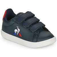 Shoes Children Low top trainers Le Coq Sportif COURTSET INF Marine / Red