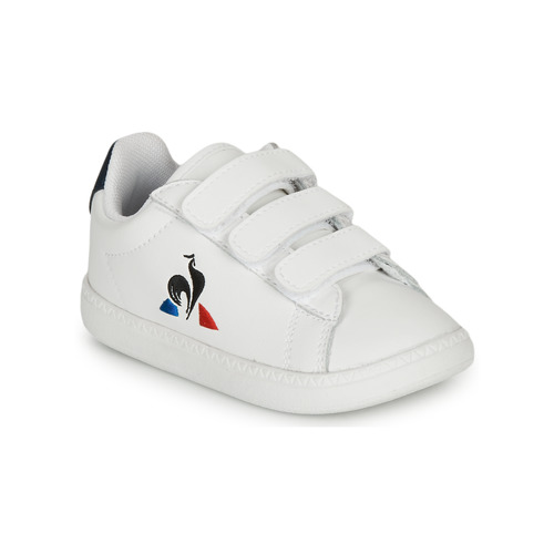 Shoes Children Low top trainers Le Coq Sportif COURTSET INF White