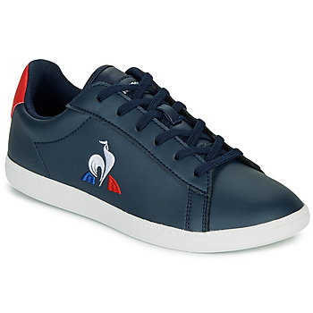 Shoes Children Low top trainers Le Coq Sportif COURTSET GS Marine / Red