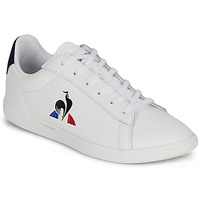 Shoes Children Low top trainers Le Coq Sportif COURTSET GS White