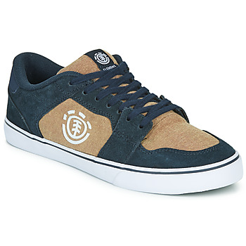 Shoes Men Low top trainers Element HEATLEY Blue / Beige