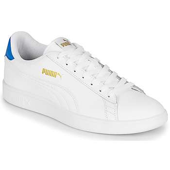 Shoes Men Low top trainers Puma PUMA SMASH V2 L White