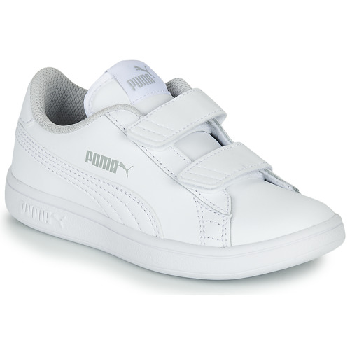 Shoes Children Low top trainers Puma Puma Smash v2 L V PS White