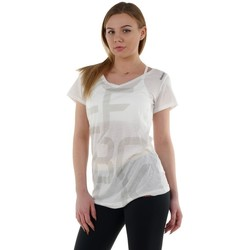 Clothing Women short-sleeved t-shirts Reebok Sport Graphic 2 White