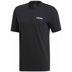 Clothing Men Short-sleeved t-shirts adidas Originals Essentials Plain Tee Black