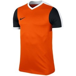 Clothing Men Short-sleeved t-shirts Nike Striker IV Tshirt Black, Orange