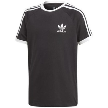 Clothing Children short-sleeved t-shirts adidas Originals Originals 3 Stripes