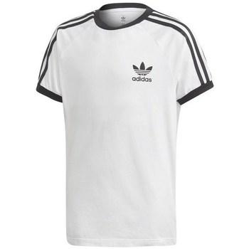 Clothing Children short-sleeved t-shirts adidas Originals 3STRIPES Legend