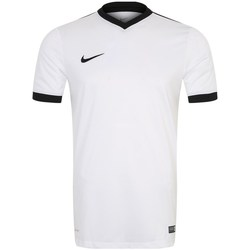 Clothing Men short-sleeved t-shirts Nike Strike IV White
