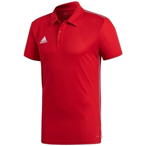 Clothing Men short-sleeved polo shirts adidas Originals Core 18 Red