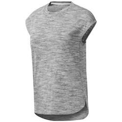 Clothing Women Short-sleeved t-shirts Reebok Sport EL Marble Grey