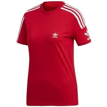 Clothing Women Short-sleeved t-shirts adidas Originals Lock UP Tee Red