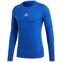 Clothing Men Long sleeved tee-shirts adidas Originals Alphaskin LS Blue