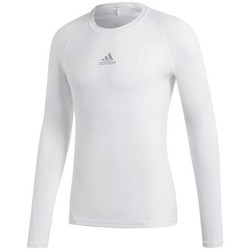 Clothing Men Long sleeved tee-shirts adidas Originals Alphaskin Sport LS White